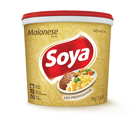 Maionese Soya