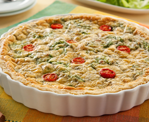 Quiche de escarola